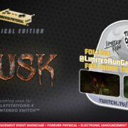 PS4&Switch版『DUSK』のパッケージ版が海外向けとして発売決定!