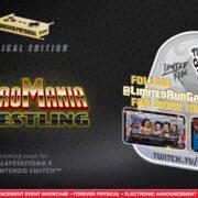 Switch版『Retromania Wrestling』のパッケージ版が海外向けとして発売決定!