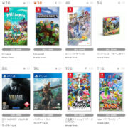 【TSUTAYA ゲームランキング】2021年5月31日~6月6日のランキングが公開!